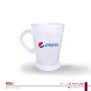 04 - لیوان شیشه ای تبلیغاتی کد 611